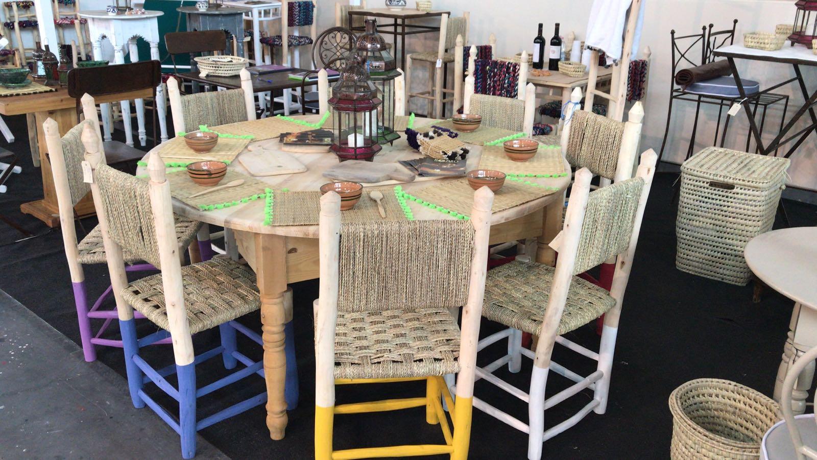 Tavolo in pino quadrato/rotondo