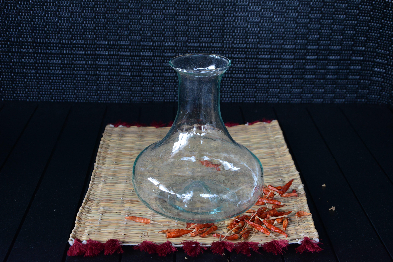 Decanteur in vetro soffiato