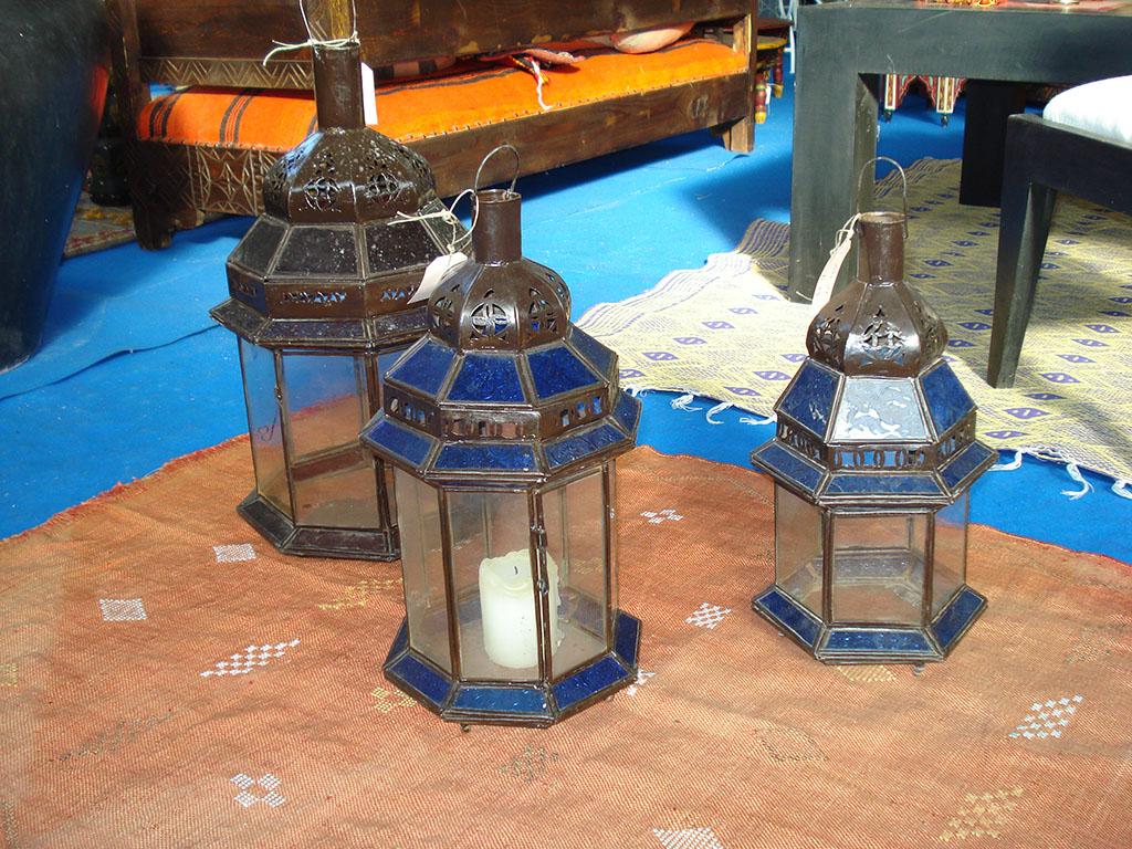 LANTERNA mod. Aladino cupola ferro e vetro