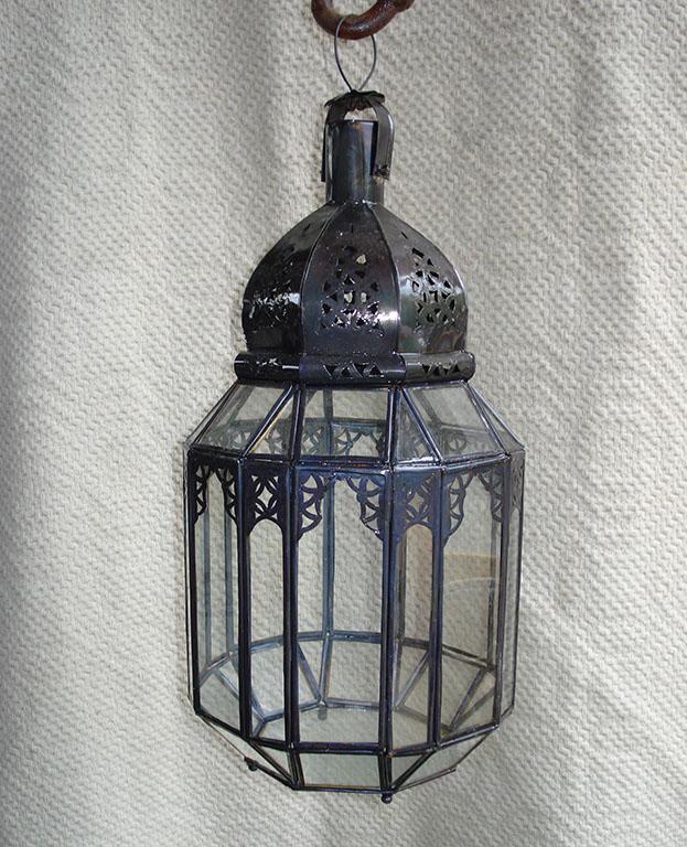 LANTERNA mod. Arabic Chic cupola in ferro