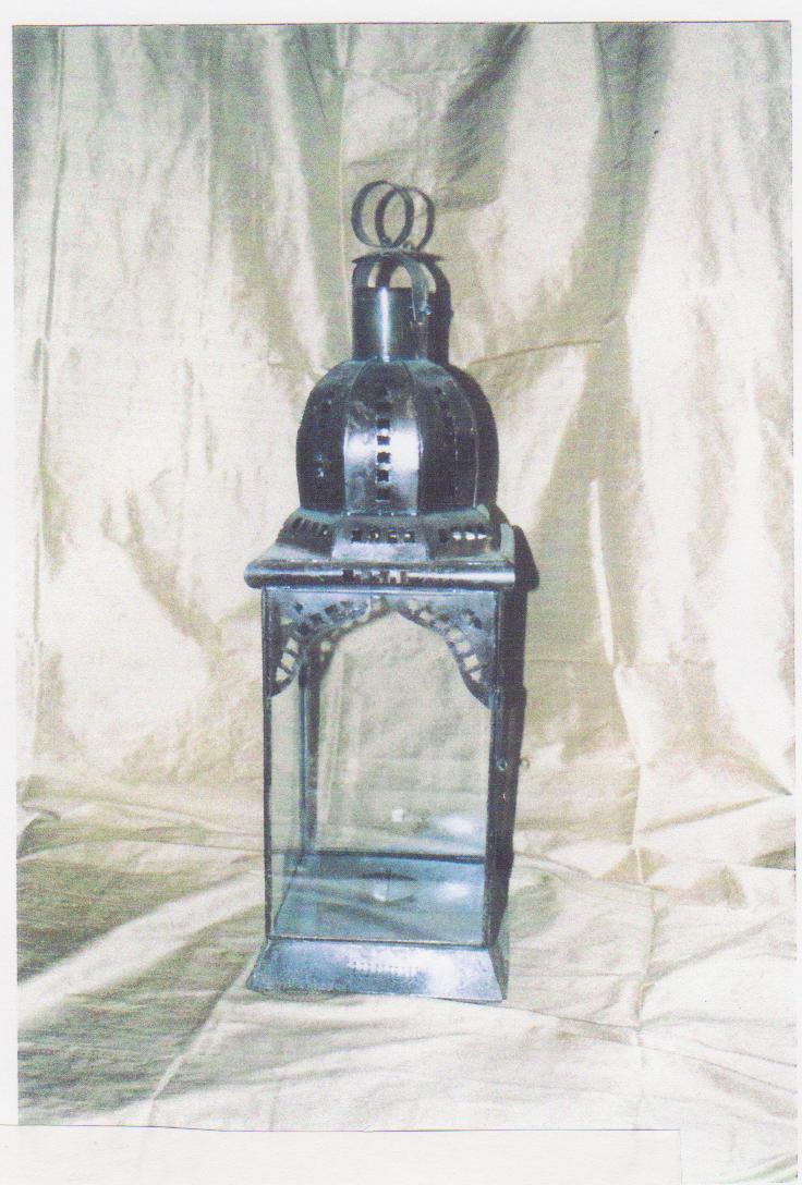 LANTERNA mod. Shiffer cupola in ferro
