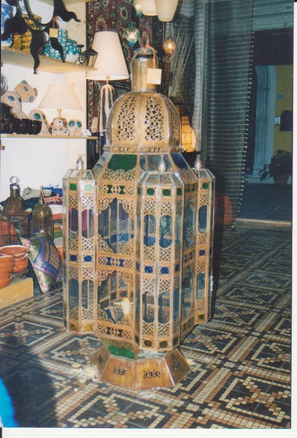 LANTERNA mod. 4 Torri cupola in ferro