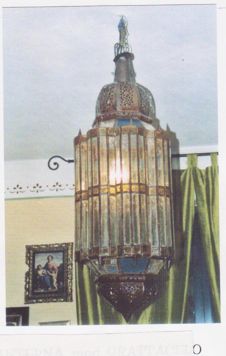 LANTERNA mod. Grattacielo cupola in ferro