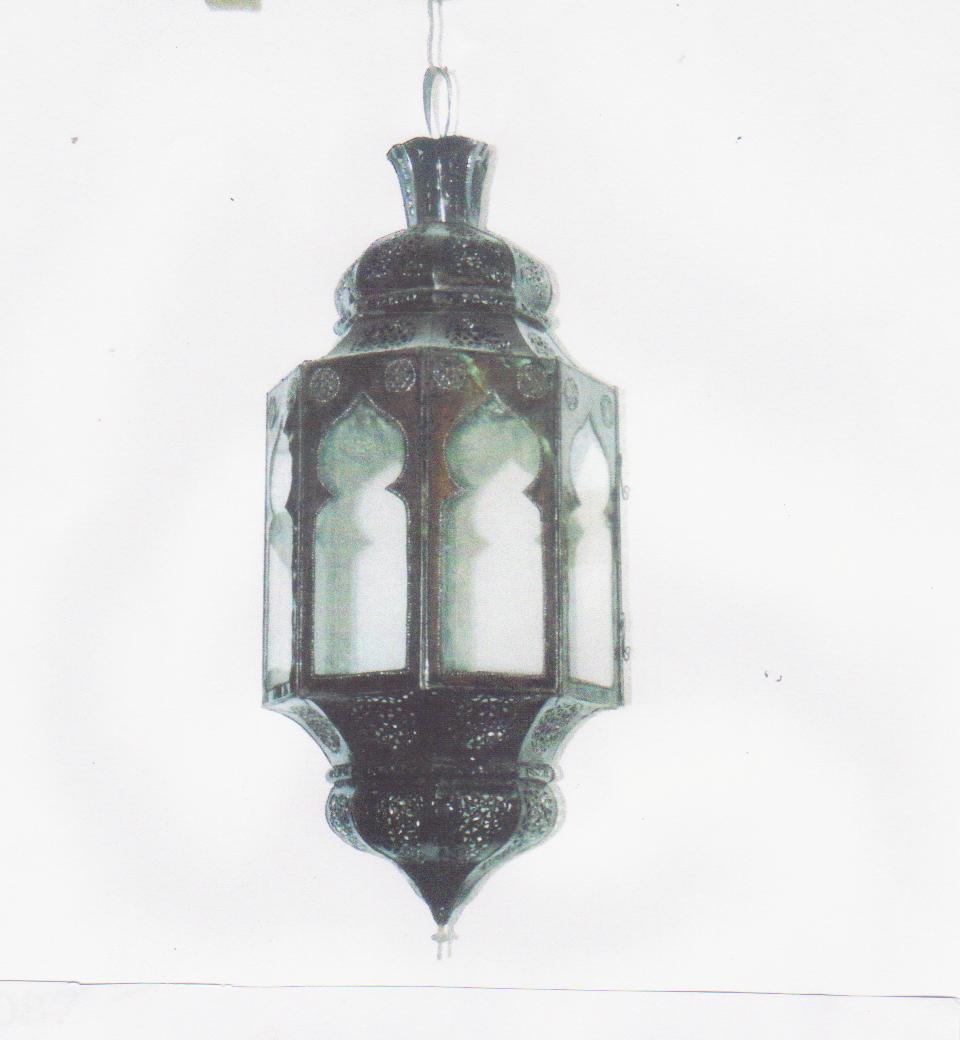 LANTERNA mod. 8 Bab a sospensione cupola in ferro