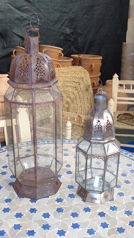 LANTERNA mod. 4 Punte cupola in ferro