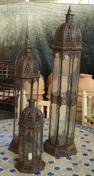 LANTERNA mod. Minareto cupola in ferro
