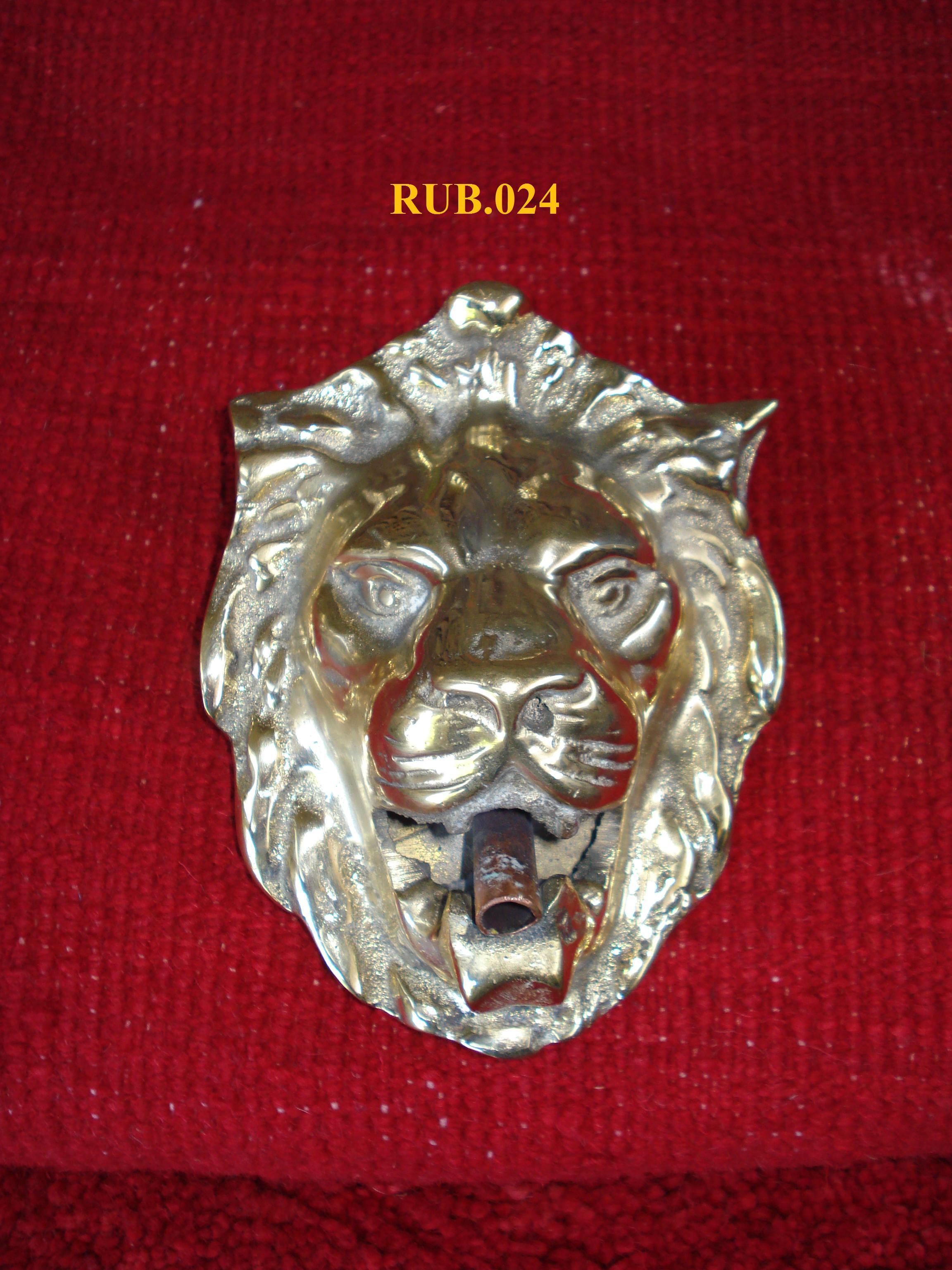 RUBINETTO mod. Testa di leone  senza valvola