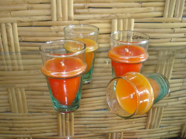 CANDELA bicchiere vetro