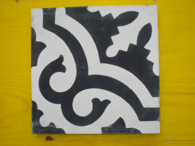 MATTONELLA cementina  decorata